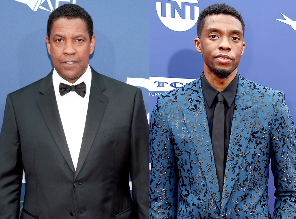 "Denzel Washington, Who Helped Pay for Chadwick Boseman's Acting Classes,  Remembers Him as a ""Gentle Soul"" - E! Online Deutschland"