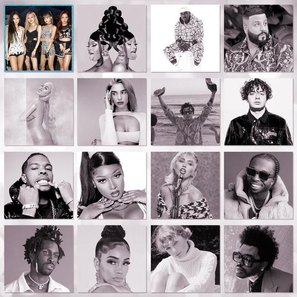 VMAs, 2020 Video Music Awards Nominees, song of summer, blackpink