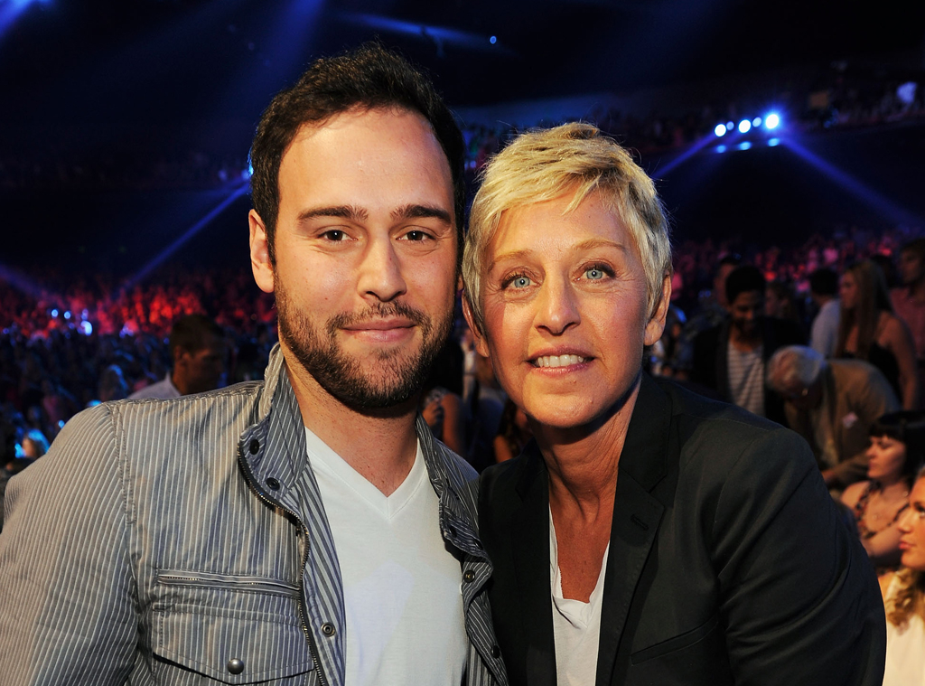 Scooter Braun, Ellen DeGeneres