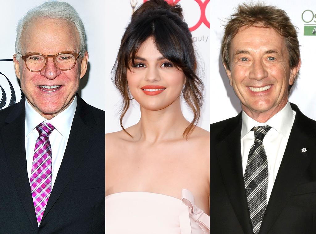 Steve Martin, Selena Gomez, Martin Short