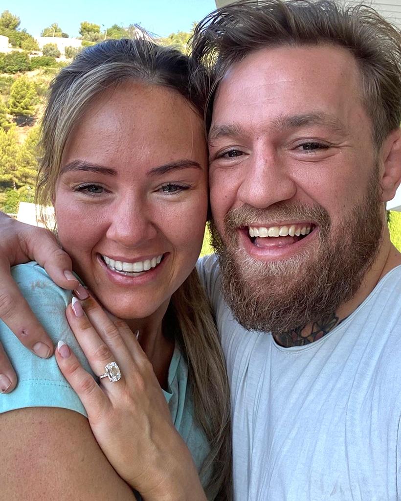 Conor McGregor, Dee Devlin, engagement