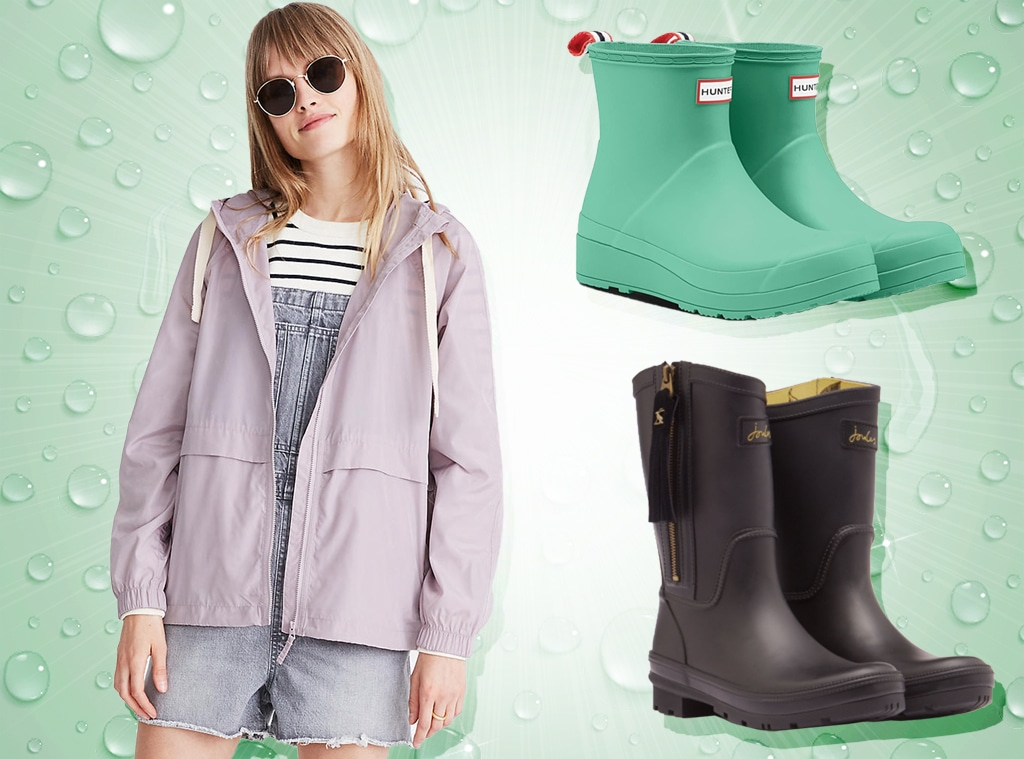 EComm: Stay Dry With Stylish Rain Gear for Spring