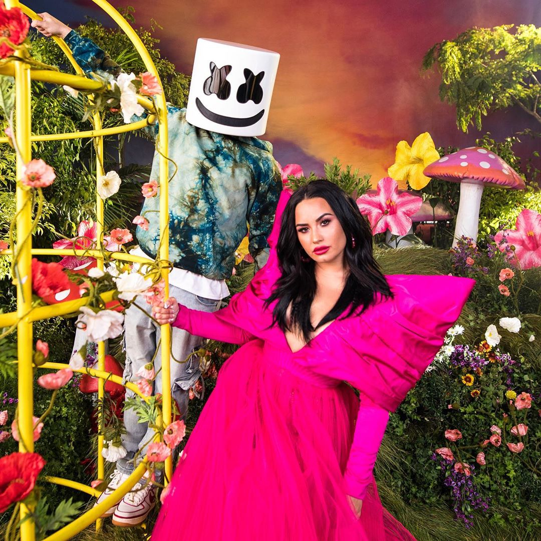 """Watch Demi Lovato and Marshmello Remind Followers It is """"OK Not To Be OK"""" in Highly effective Music Video – E! On-line"""