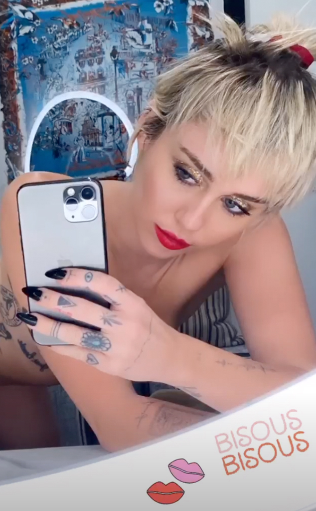 Miley Cyrus Topless: Singer Posts Partially Nude Instagram Photo