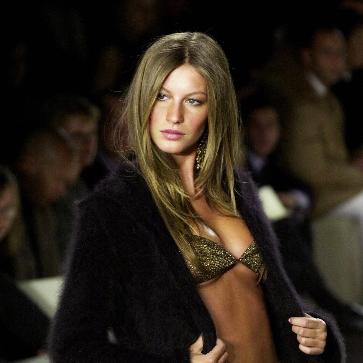 Gisele, Fashion Week, NYFW, 2000, Ralph Lauren, Gisele Bündchen