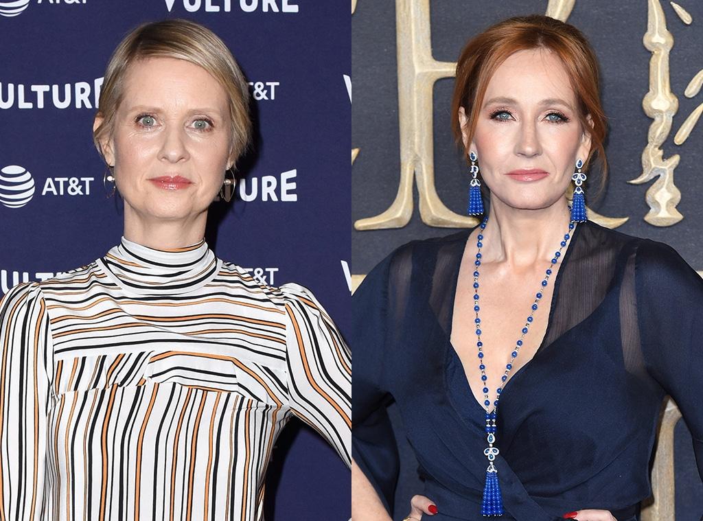 Cynthia Nixon, J. K. Rowling