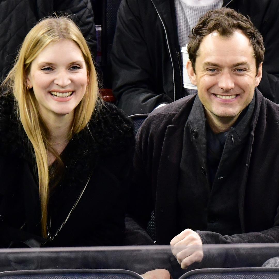 Jude Law Welcomes Baby No 6 Confirms Wife Phillipa Coan Gave Birth E Online Deutschland