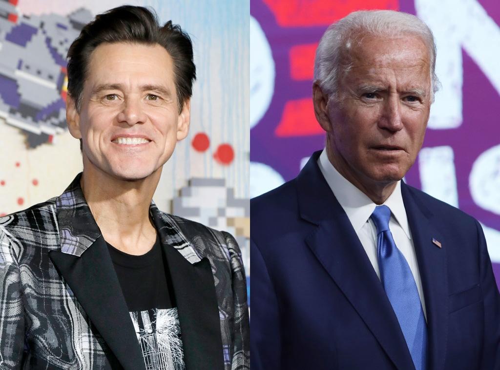 Jim Carrey, Joe Biden, SNL