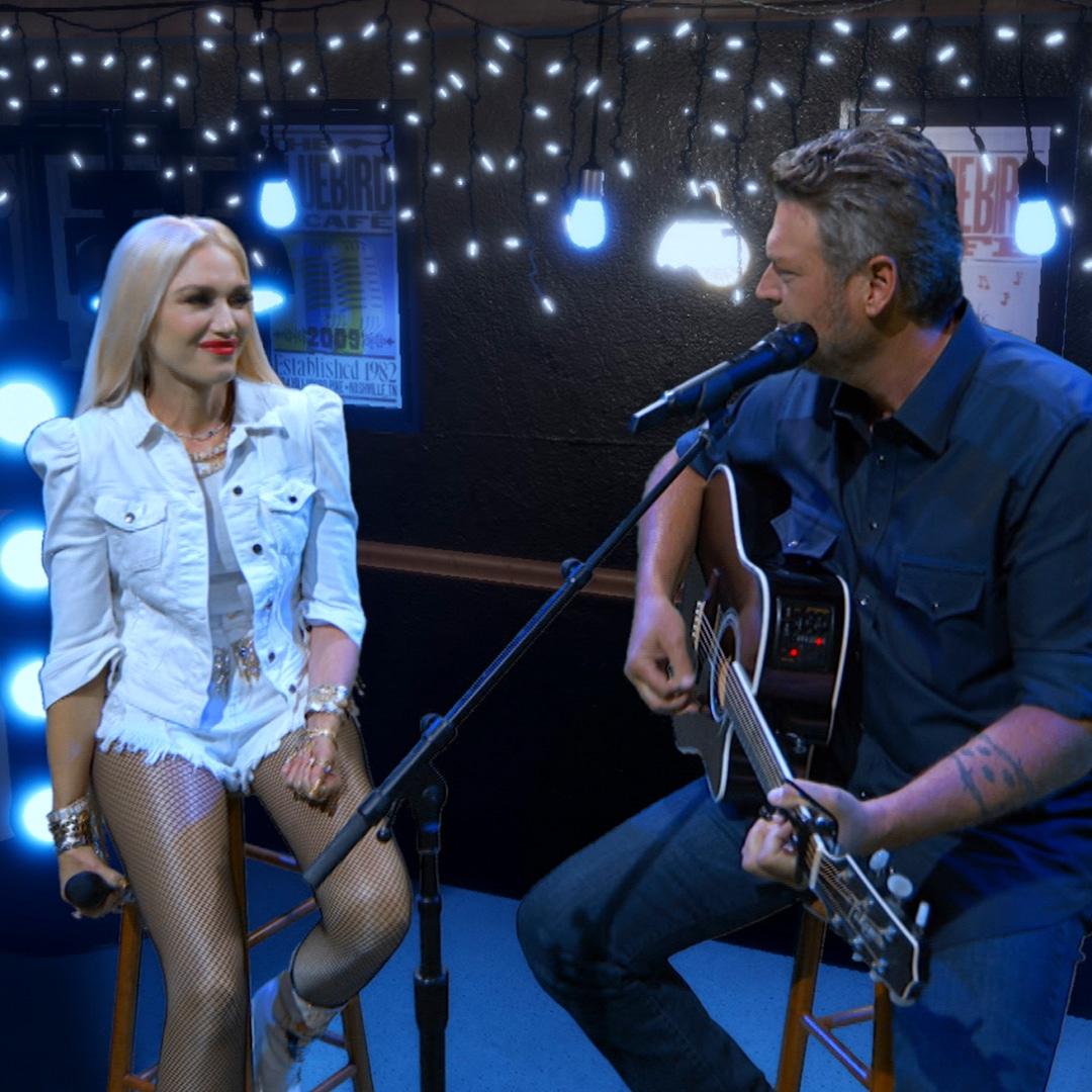 Gwen Stefani and Blake Shelton's Romance Takes Center Stage During 2020 ACM Awards Performance - E! NEWS