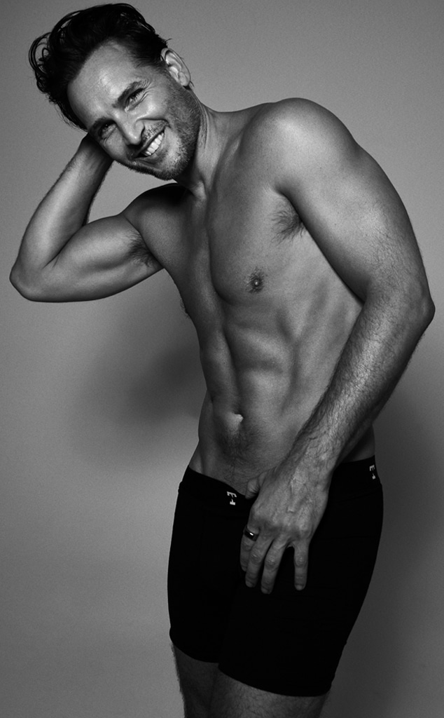 Peter Facinelli, Nic Tailor Underwear, Prostate Cancer Awareness Month