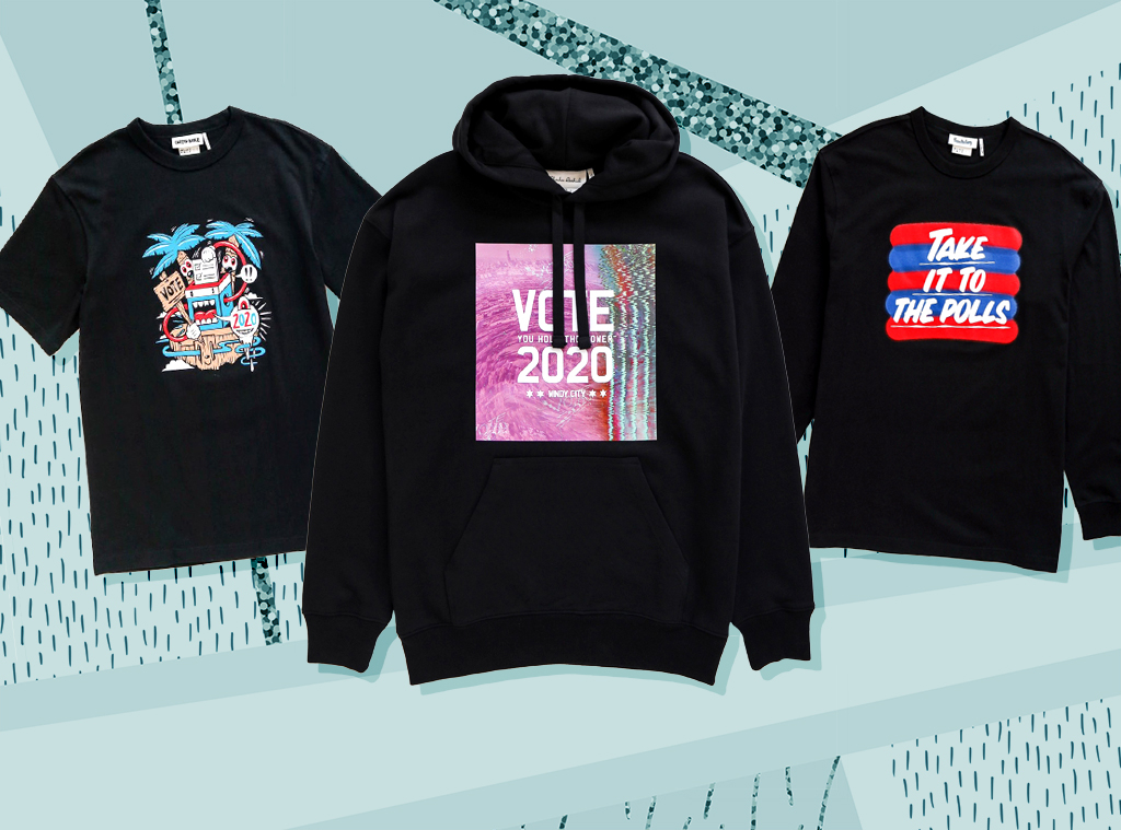 E-comm: H&M I Am a Voter collection