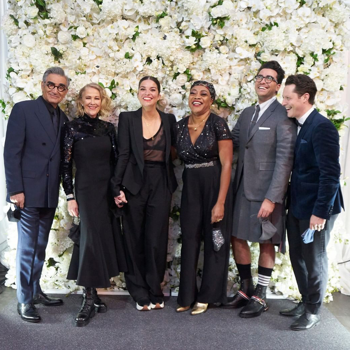 Why the Schitt's Creek Cast Had to Uninvite Guests to Their Emmys Party