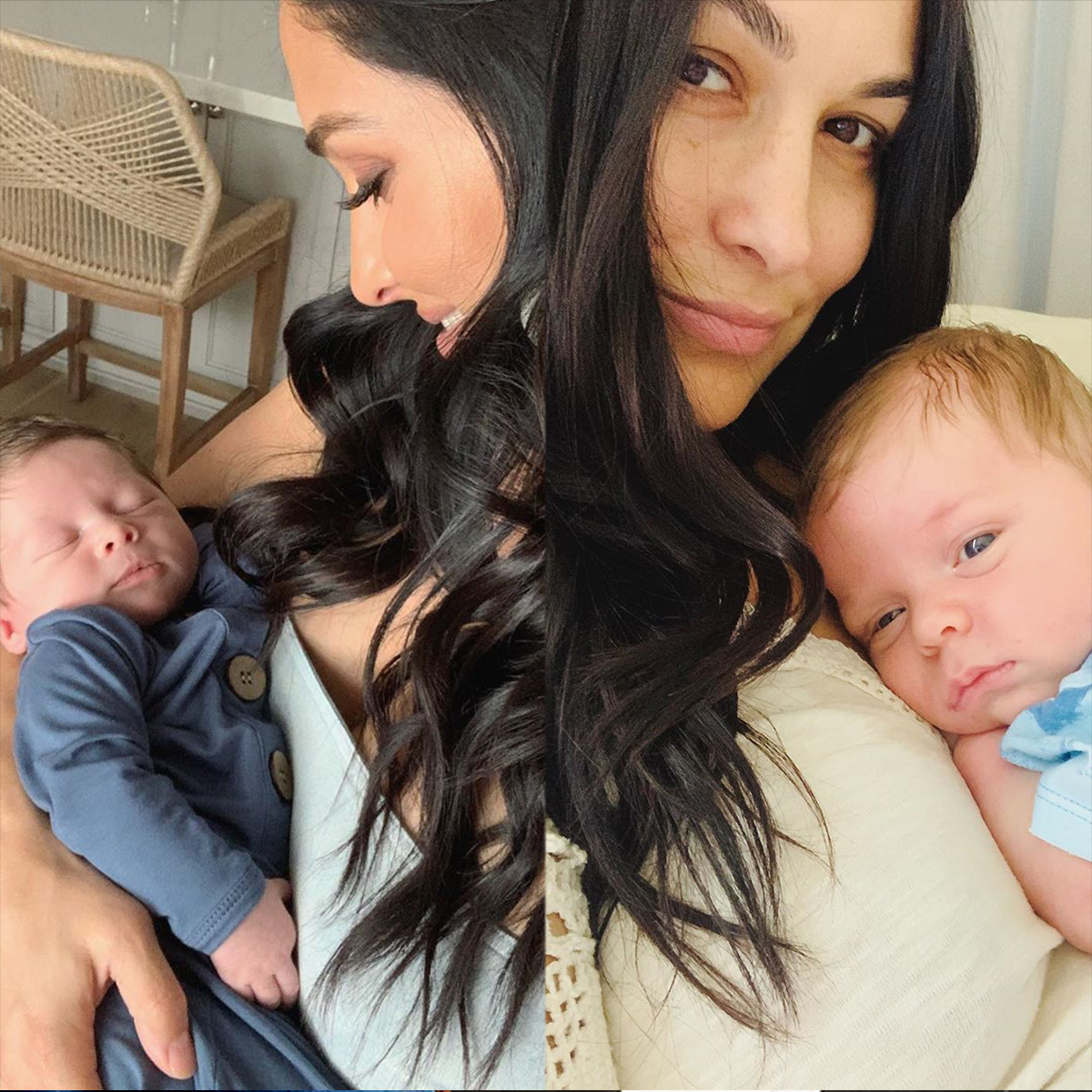 Nikki and Brie Bella Reveal Sons Buddy and Matteo Already Have a Special Bond