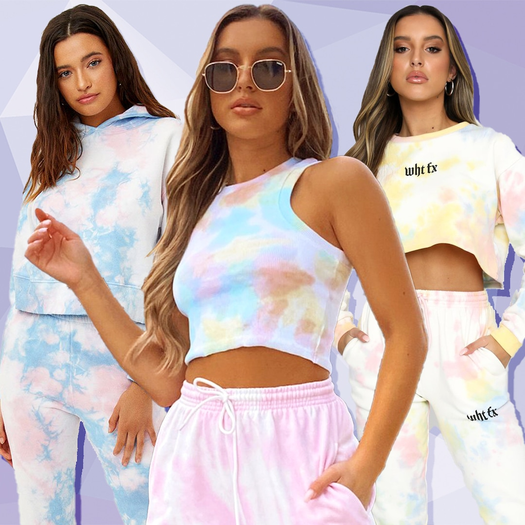New & Restocked Tie Dye Lounge Sets From White Fox, Frankies Bikinis & More Are Here!