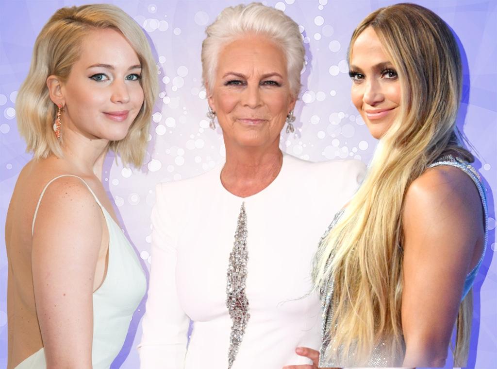 E-Comm: Purple Shampoo, Jennifer Lopez, Jamie Lee Curtis, Jennifer Lawrence