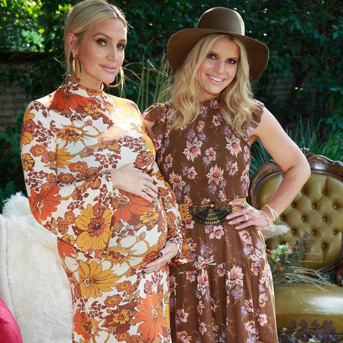 "Jessica Simpson Celebrates ""Soulmate"" Ashlee Simpson Ross at Boho Chic Baby Shower"