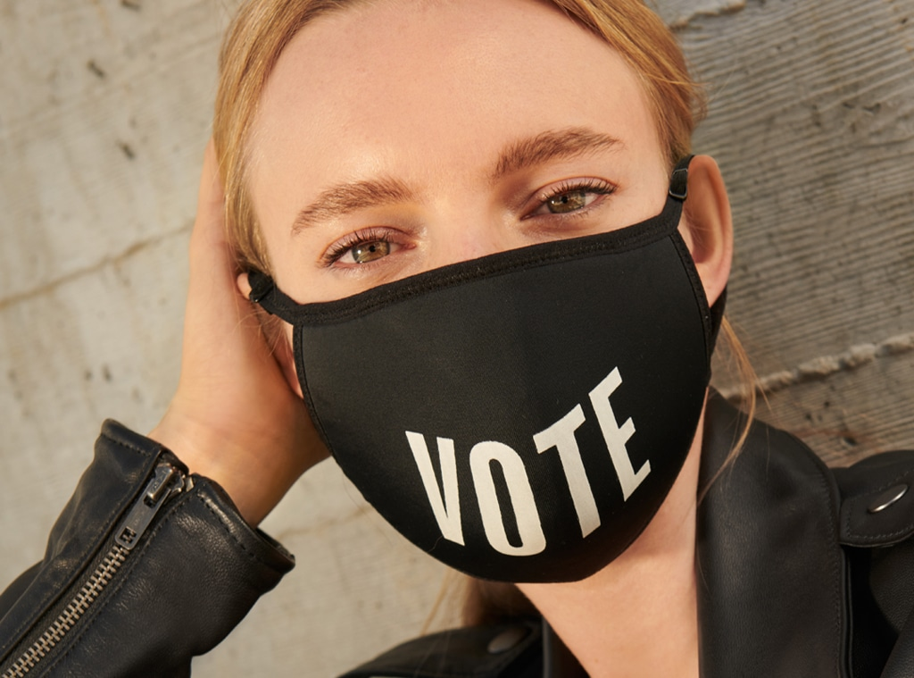 E-comm: Bloomingdales Launches Vote Face Mask