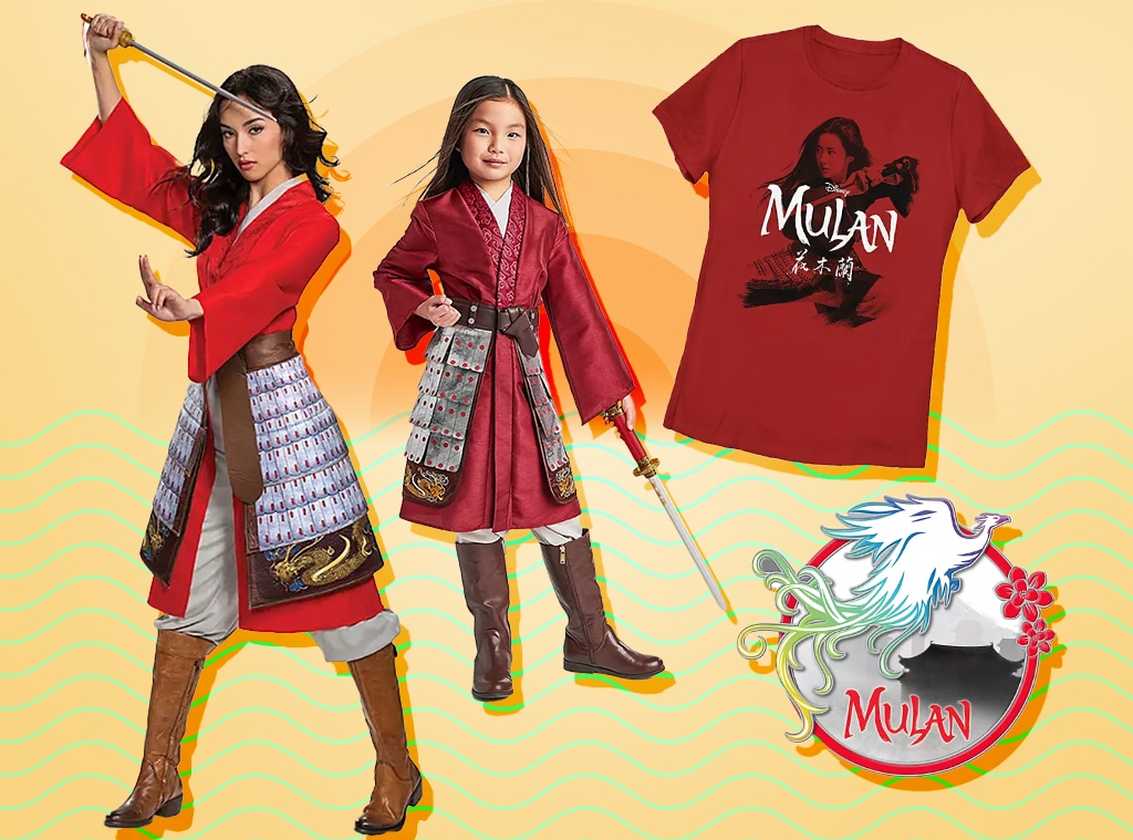E-comm: Mulan Collection Launches at ShopDisney