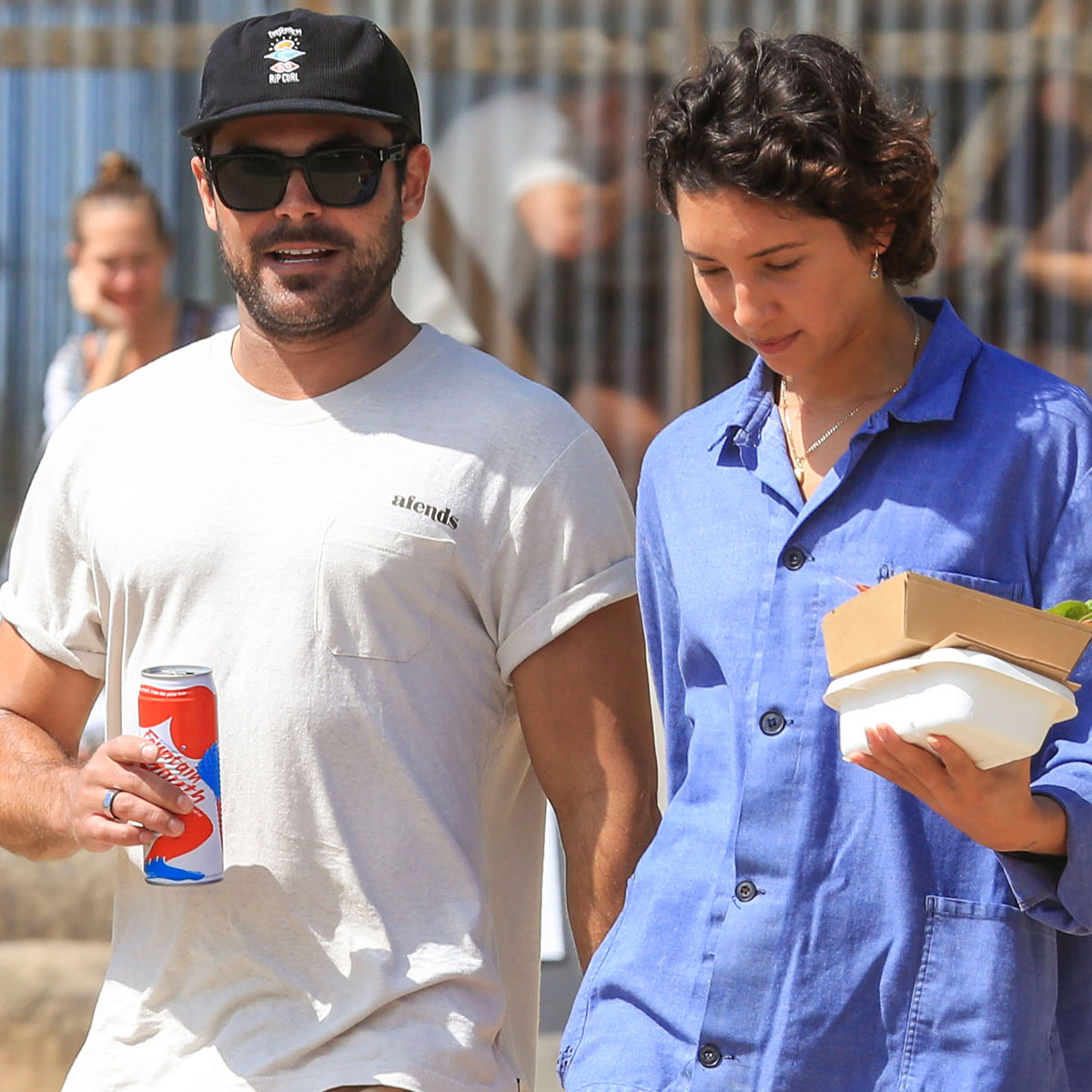 Zac Efron and Vanessa Valladares Prove They're Still Going Strong in Rare Public Outing