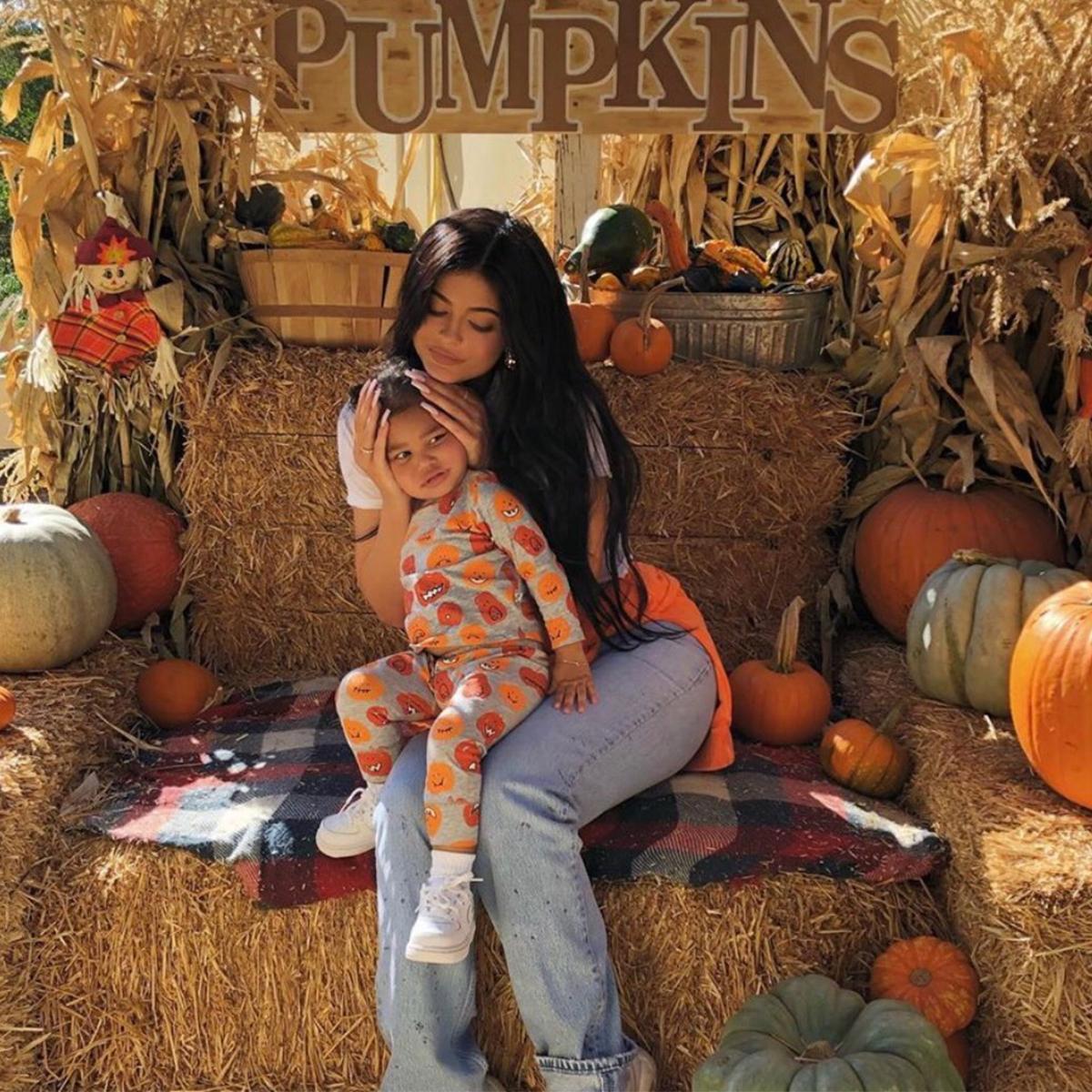 Kylie Jenner, Stormi, Halloween