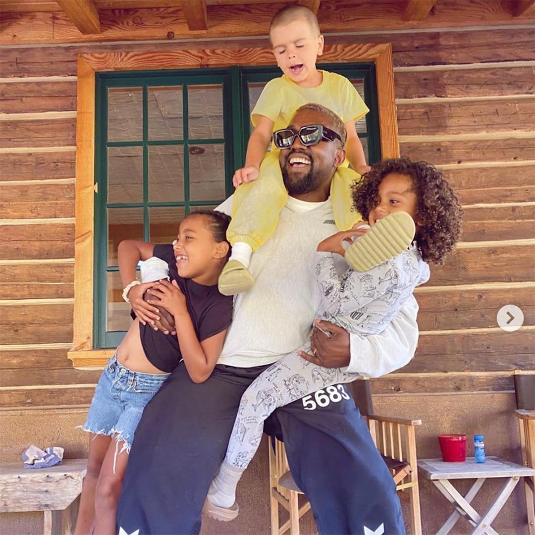 "Kim Kardashian Jokes Son Saint West ""Nonetheless Seems to be Cute"" After He Cuts His Hair – E! On-line"