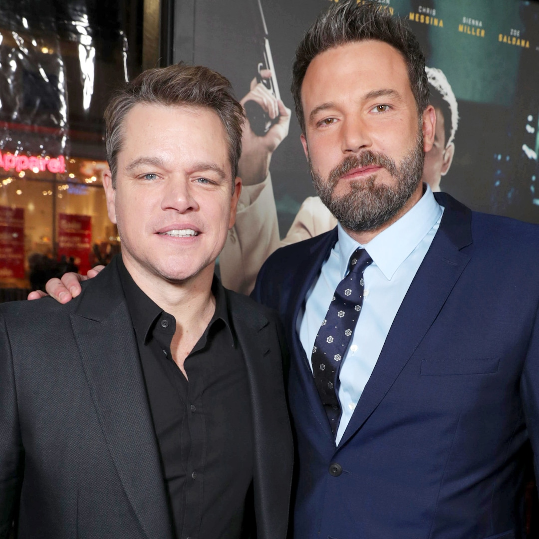 Ben Affleck Debuts Jaw-Dropping New Look in Hilarious Video With Matt Damon – E! NEWS