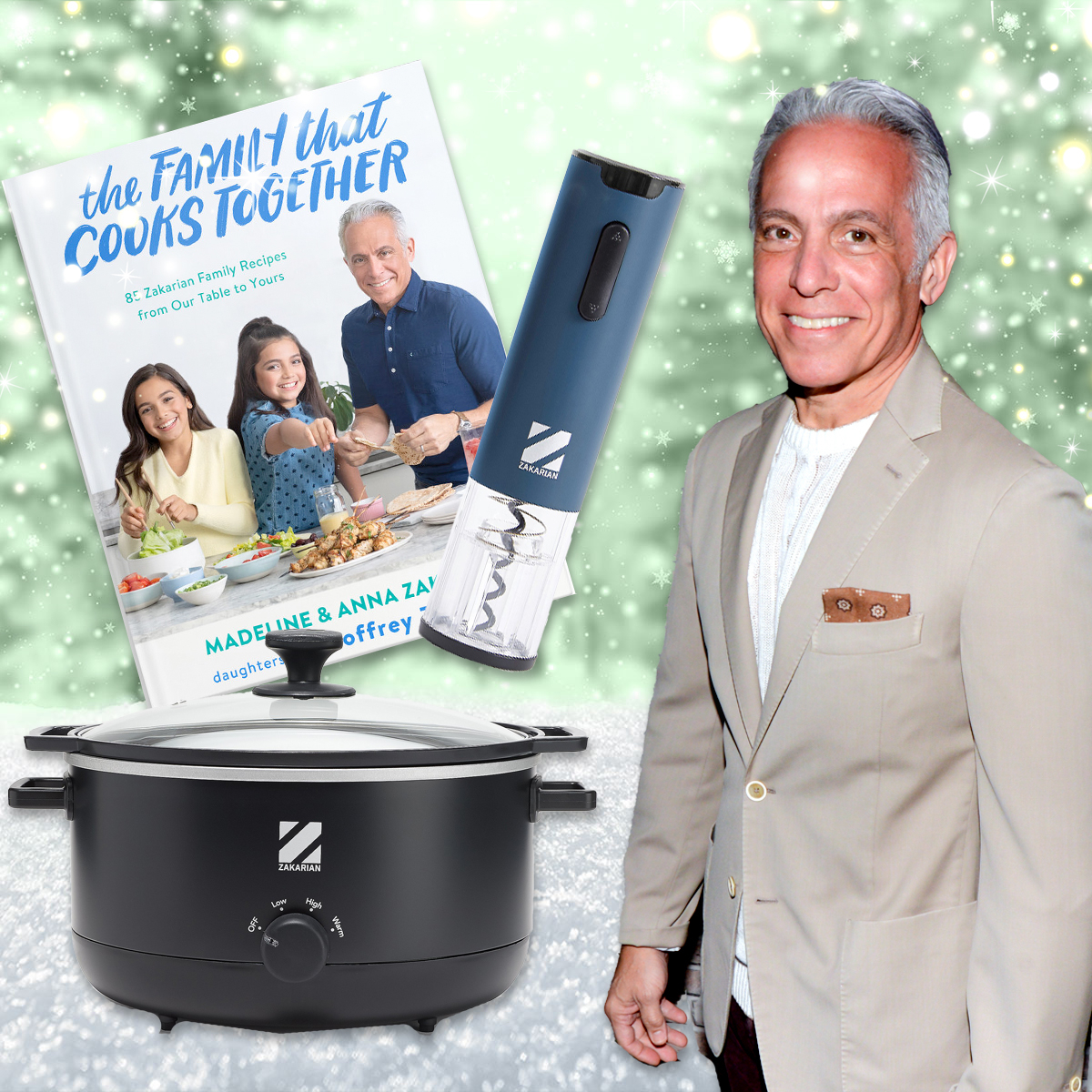 Chef Geoffrey Zakarian's Holiday Gift Guide Is a Feast for Foodies