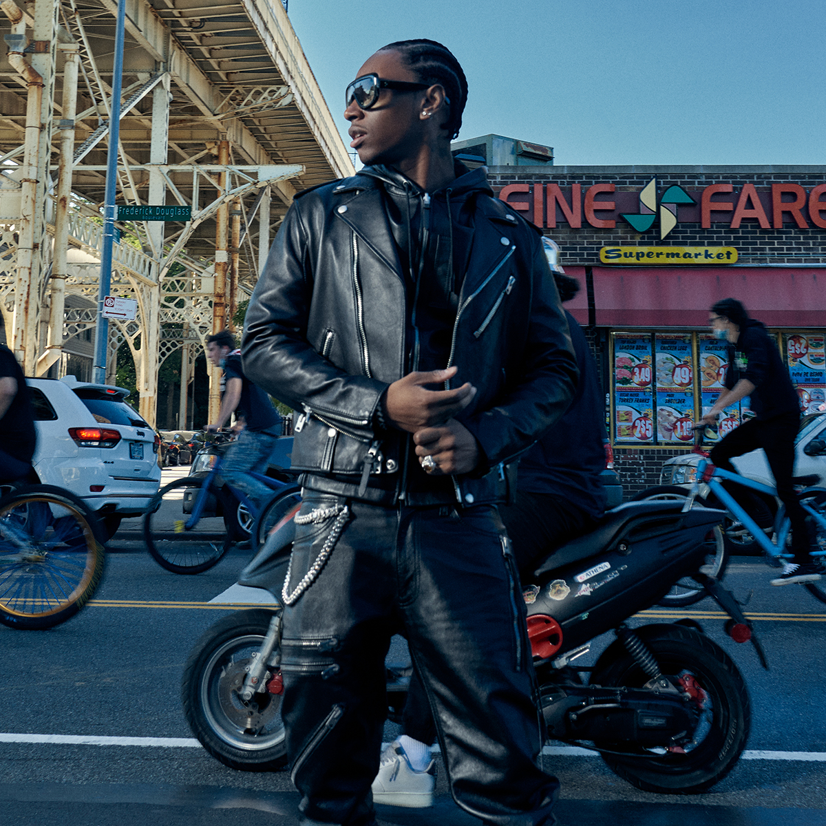 Coach's New Men's Outerwear Collection Is NYC Street Style at Its Best