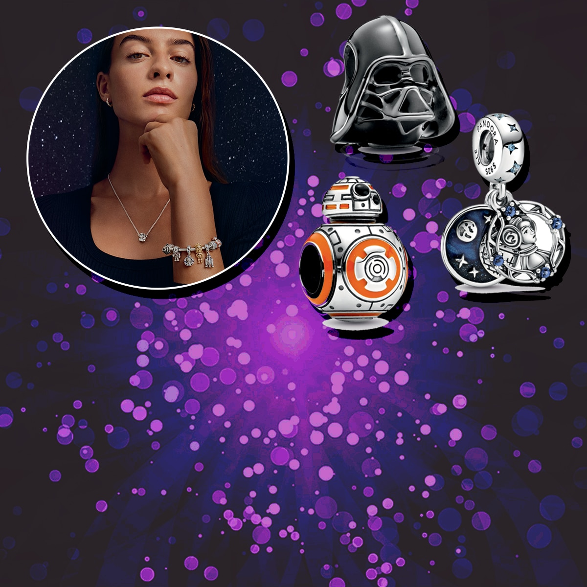 Embrace The Force In Style With the Star Wars x Pandora Collection - E!  Online
