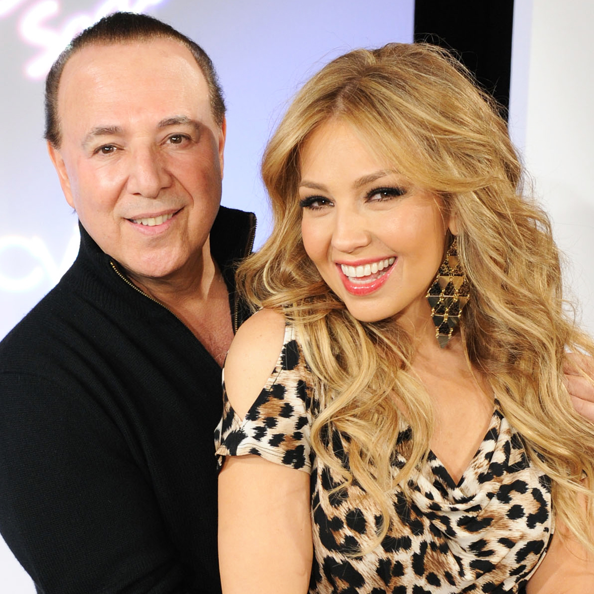 You'll Never Believe Which Iconic Couple Set Thalía Up With Tommy Mottola