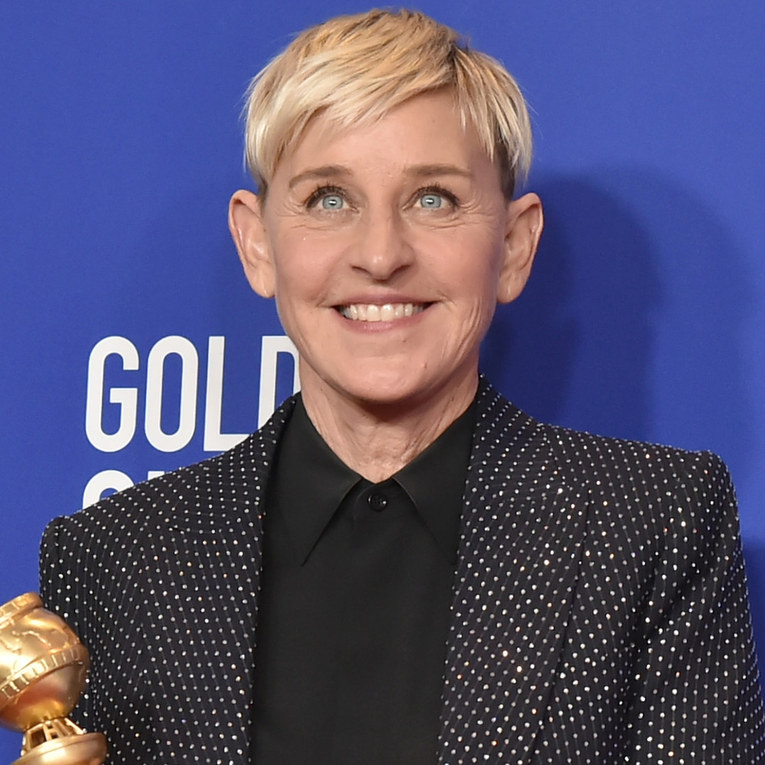Ellen DeGeneres Switches Up Her Signature Hairstyle for Edgy New 'Do