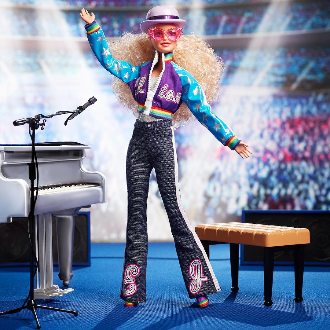 Elton John Barbie Is the New Tiny Dancer in Town