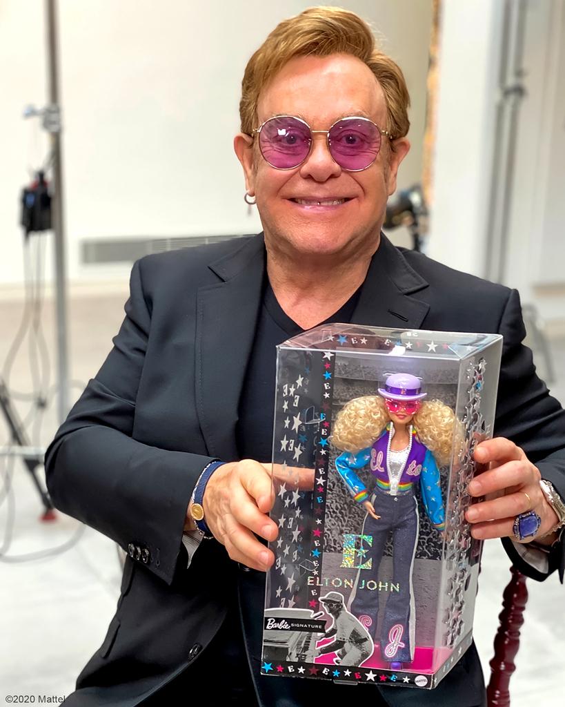 E-Comm: Elton John, Barbie Doll