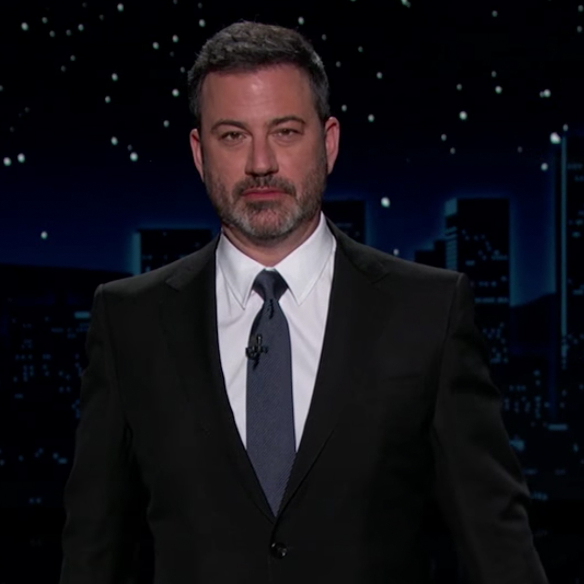 "Watch Jimmy Kimmel's 3-Year-Old Son Billy Hilariously Steal the Show During ""Family Meeting"""