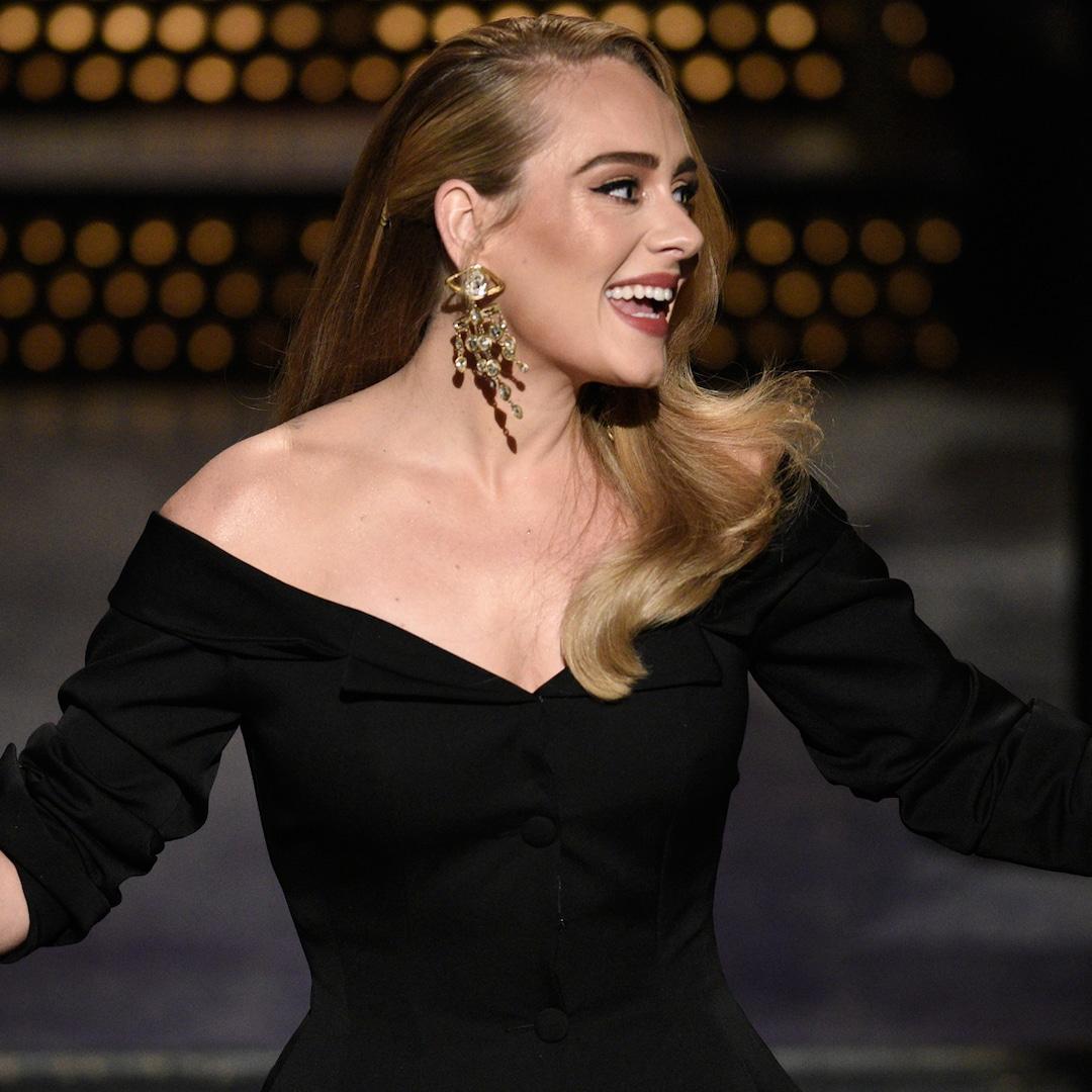 Adele Celebrates Being