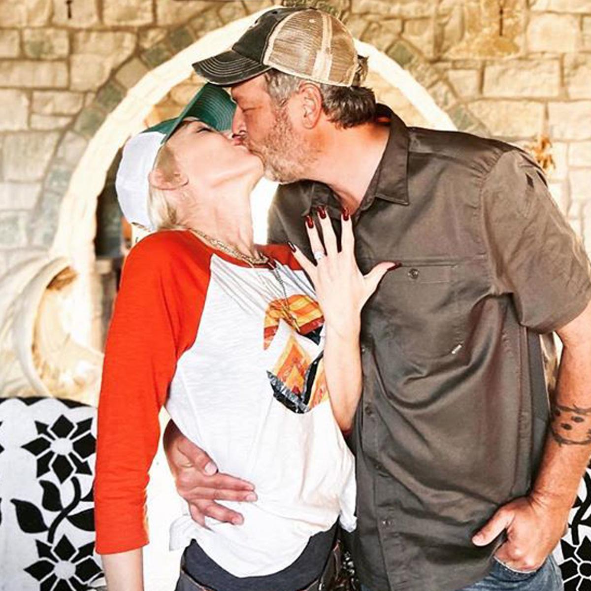 How Blake Shelton and Gwen Stefani Are Celebrating Their First Thanksgiving Engaged