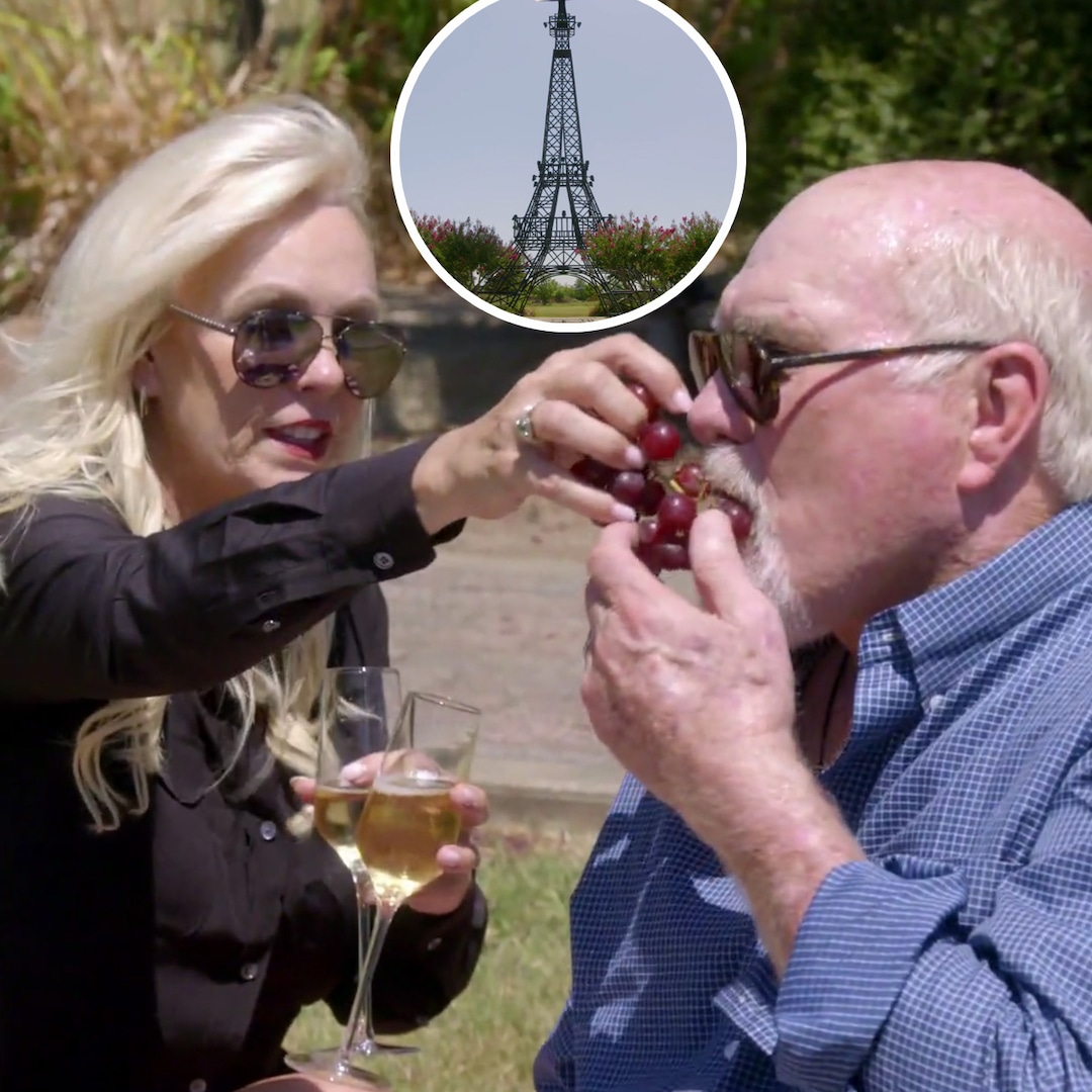 Watch Terry Bradshaw Surprise His Wife Tammy With Lunch Under the Eiffel Tower...in Texas