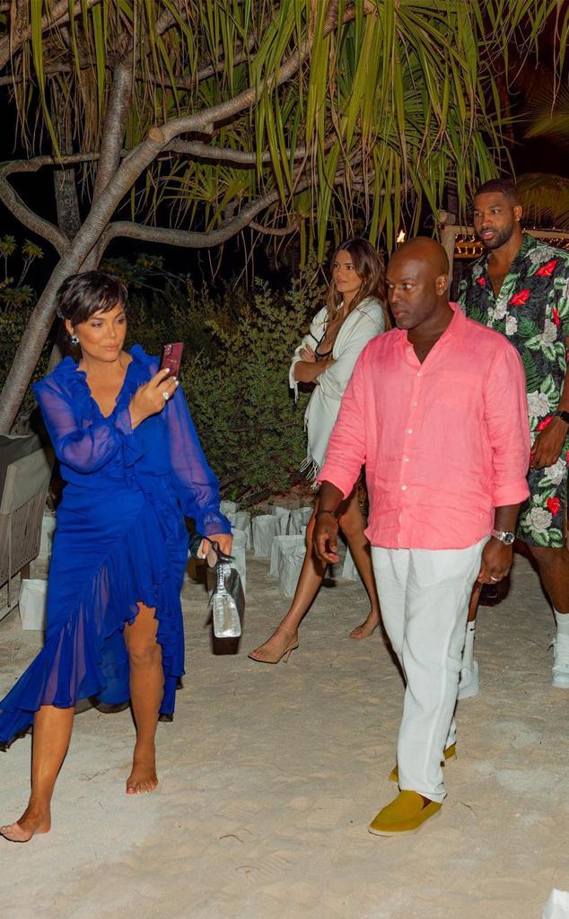 Kim Kardashian West, 40th Birthday, Kris Jenner, Corey Gamble, Khloe Kardashian, Tristan Thompson