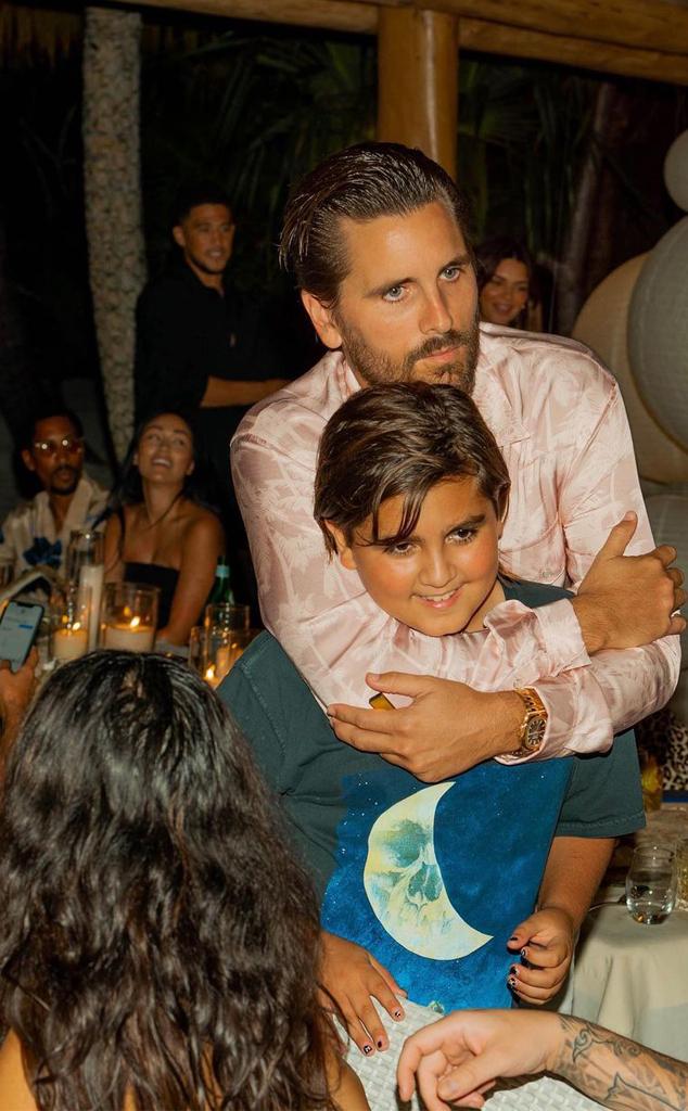Kim Kardashian West, 40th Birthday, Scott Disick, Mason Disick