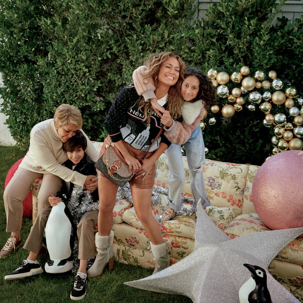 E-Comm: Coach's Holiday Campaign, Jennifer Lopez