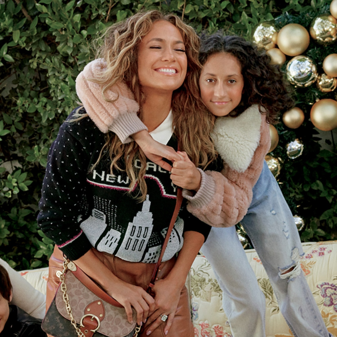 See How Jennifer Lopez and More Celeb's Families Celebrate the Holidays in Coach