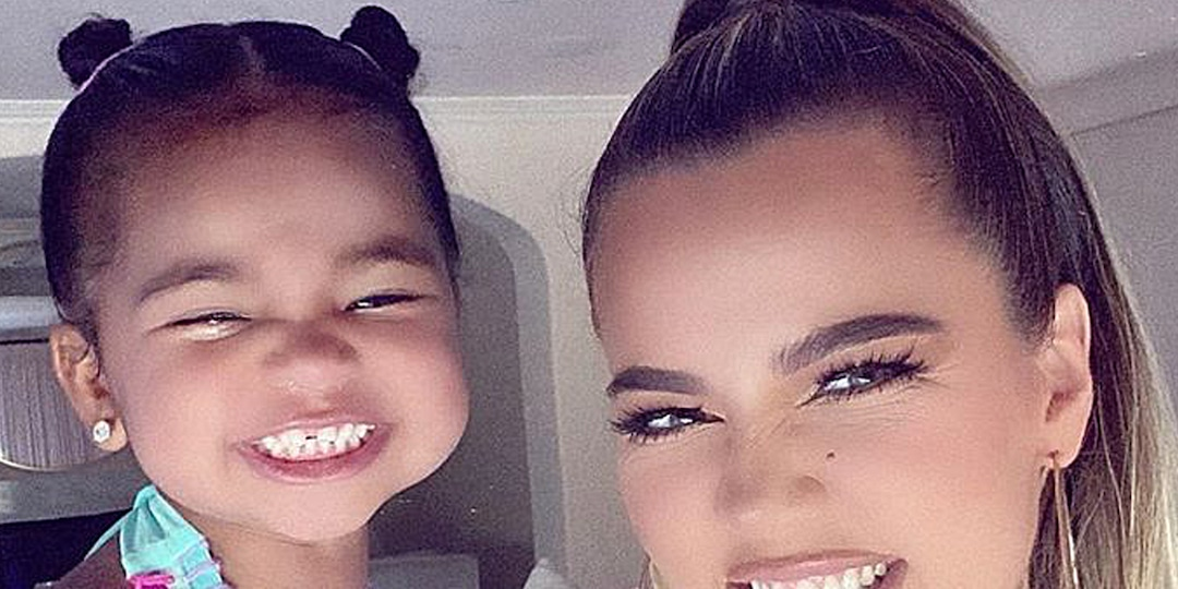 """This Photo of Khloe Kardashian and Her """"Besties"""" True, Penelope and Chicago Is Too Cute for Words - E! Online.jpg"""