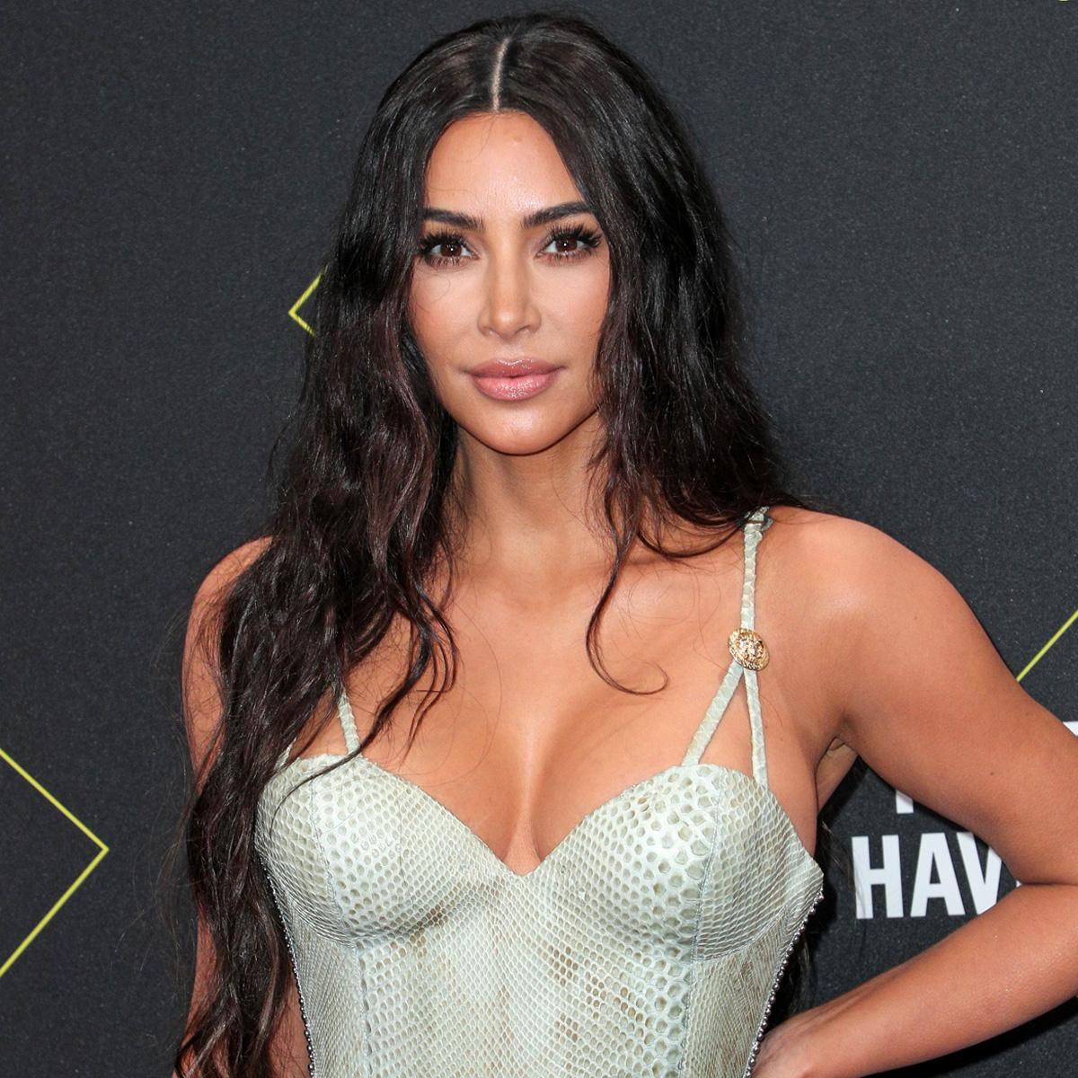 Kim Kardashian Makes Everyone Green With Envy in Her Daring Givenchy Dress