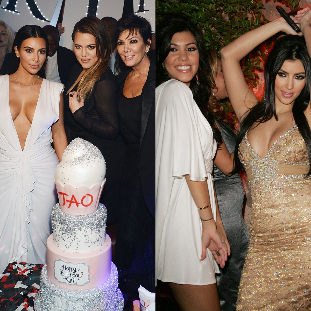 Look Back at All of Kim Kardashian's Epic Birthday Parties