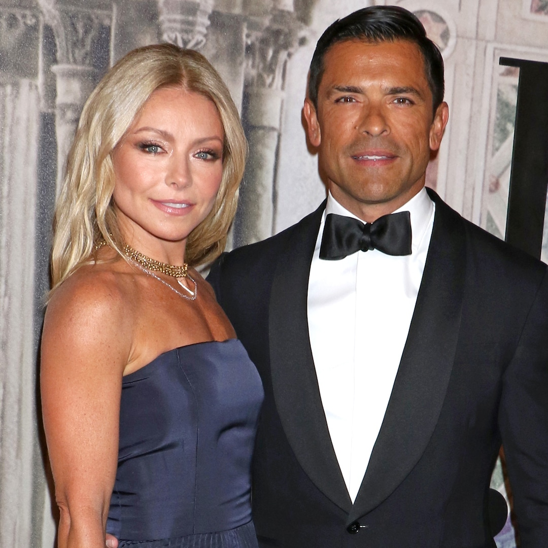 Kelly Ripa Leaves NSFW Comment on Mark Consuelos' Birthday Tribute to Son Joaquin