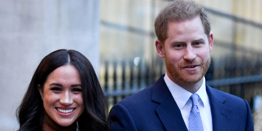 Why Prince Harry and Meghan Markle's Wax Figures Were Just Moved Away From the Royals - E! Online.jpg