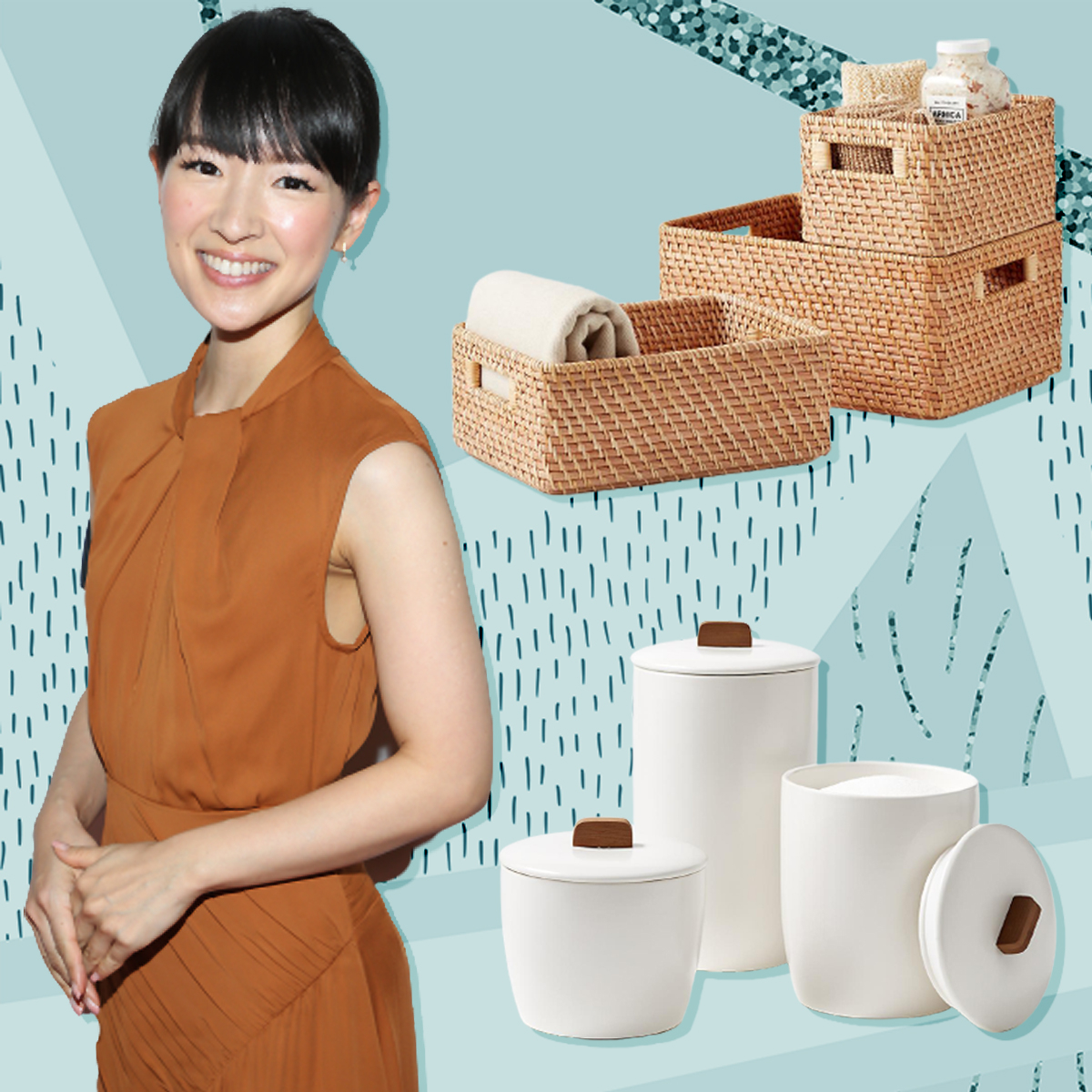 Marie Kondo's New Container Store Collection Sparks Major Joy