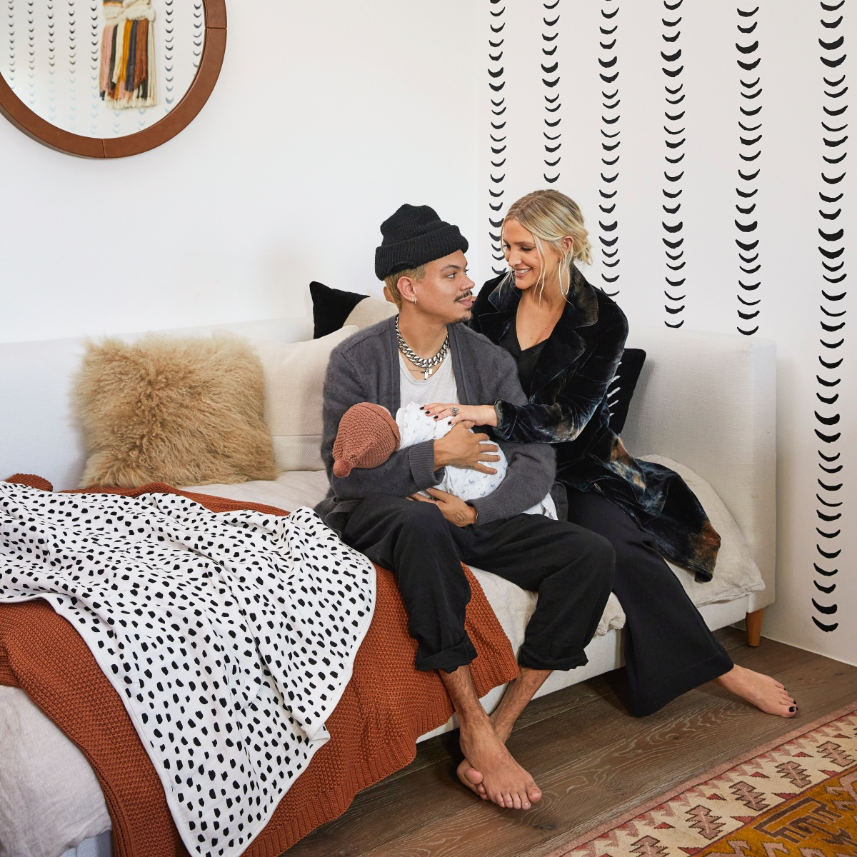 Go Inside Ashlee Simpson Ross and Evan Ross' Bohemian Nursery for Baby Ziggy