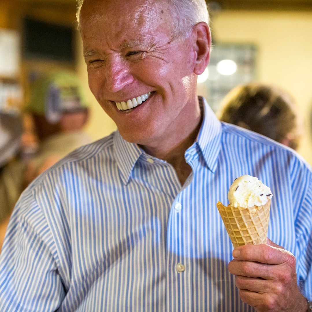 All of the Instances Joe Biden's Love for Ice Cream Melted Our Hearts – E! On-line