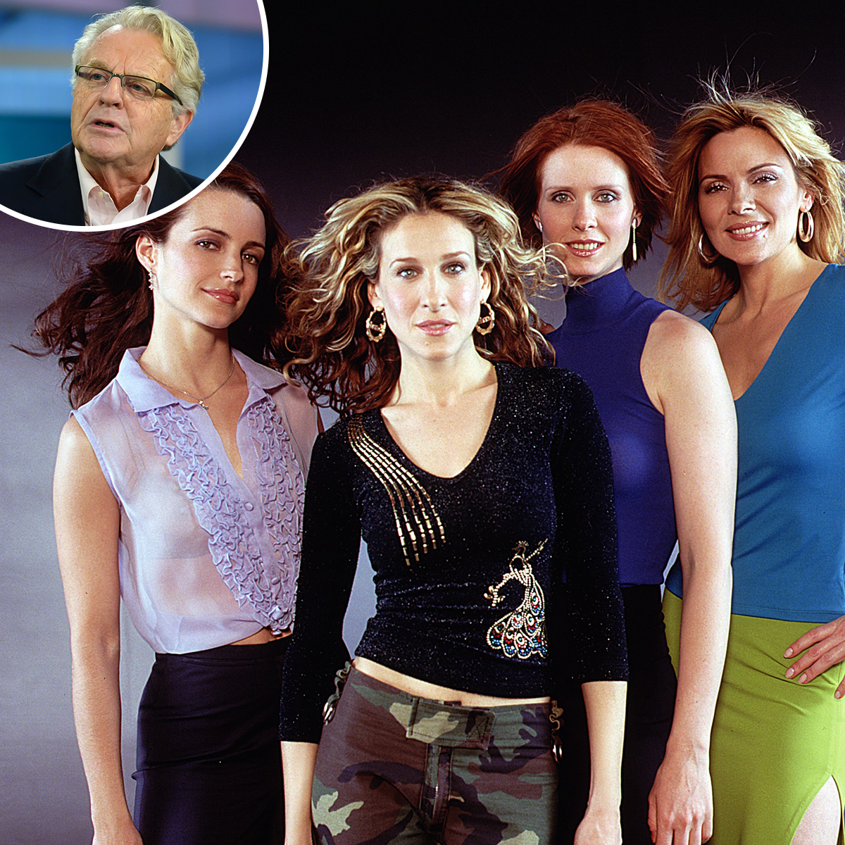 Jerry Springer Just Weighed in on the Replacing Kim Cattrall in Sex and the City's Revival Debate